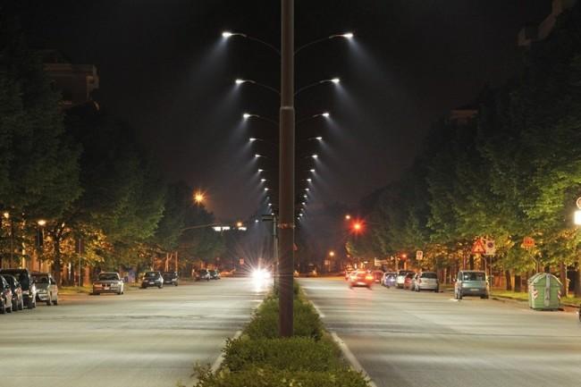 Вариант уличного освещения