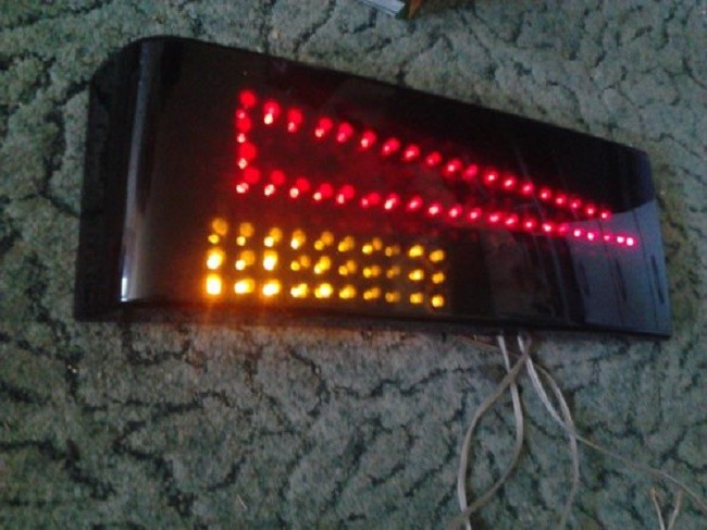 Внешний вид самодельного светодиодного фонарика