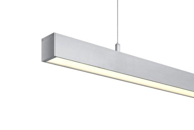 Внешний вид подвесного линейного светильника