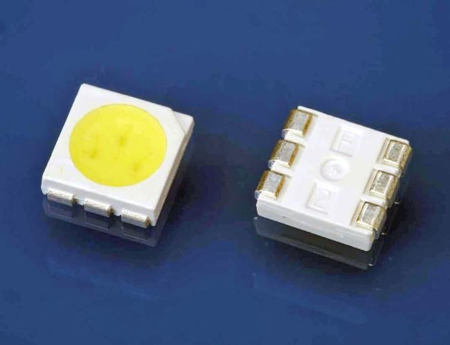 Внешний вид диодного чипа 5050