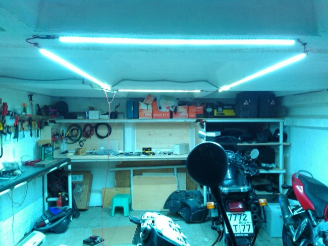 Внутреннее устройство гаража