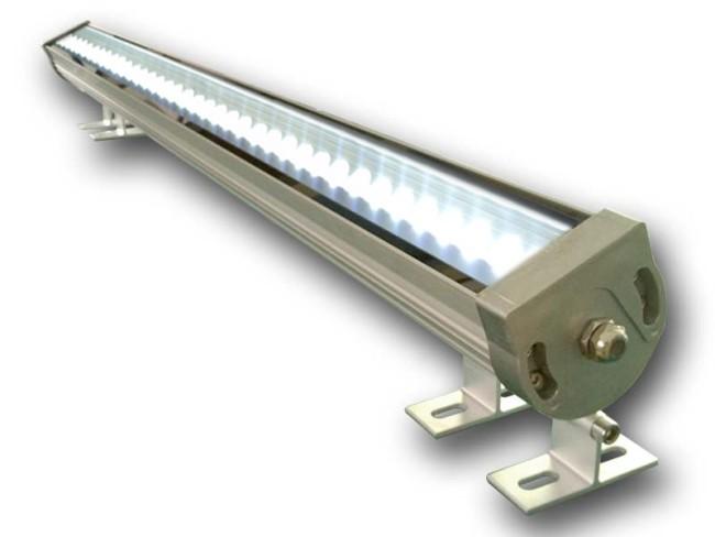 Внешний вид сетевого линейного светильника