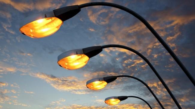 Внешний вид уличных фонарей