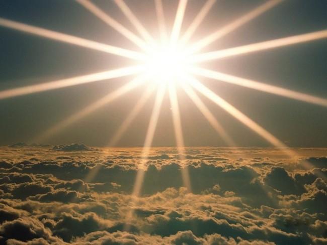 Внешний вид солнечного света