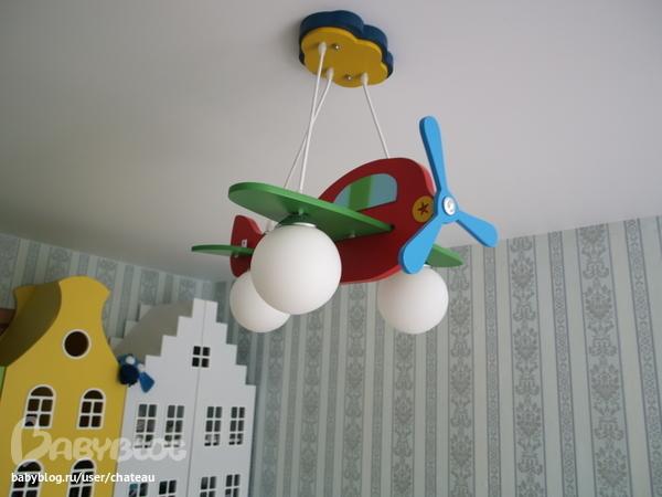 Люстра-самолетик