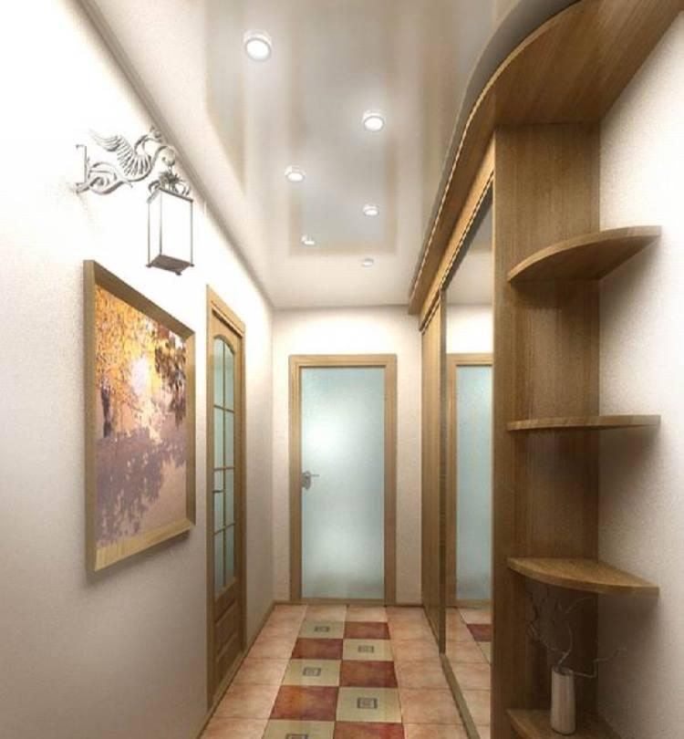 Варианты освещения в коридоре