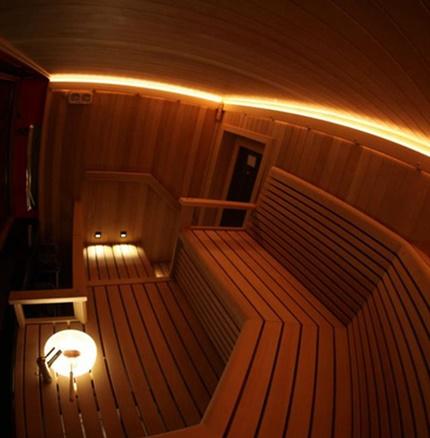 Светодиодное освещение сауны