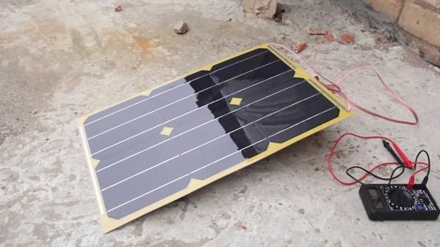 Зарядка на солнцечной энергии