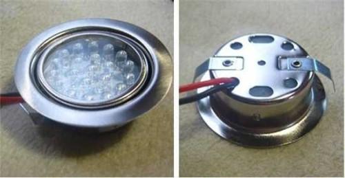 Светодиодный светильник на 12 вольт
