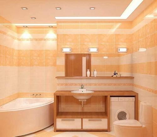 Применение 12-ти вольтовых светильников в ванной