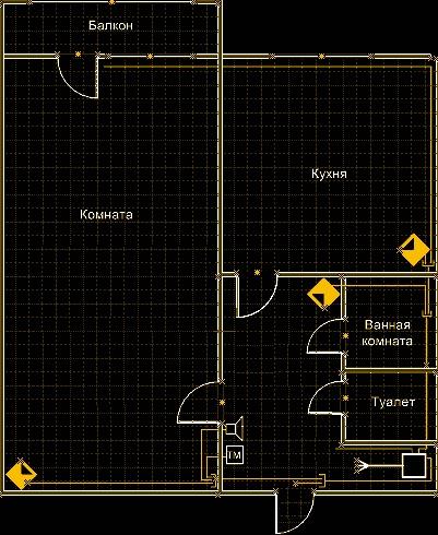 Правильная расстановка датчиков в квартире