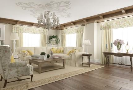 Комната в стиле «прованс»