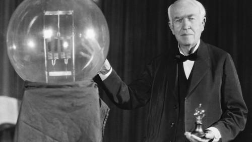 Томас Эдисон и лампа накаливания