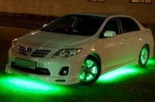 Светодиодная подсветка машины