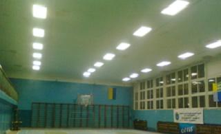 Светодиодное освещение спортзала