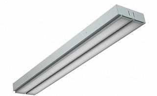 Внешний вид люминесцентного светильника