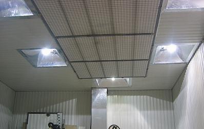 Прожекторы в гараже
